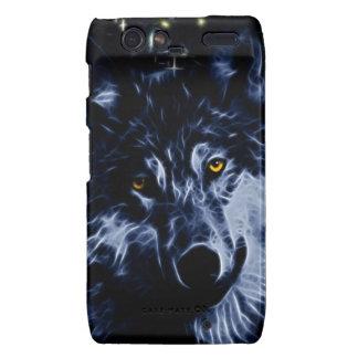 Wolf and stars motorola droid RAZR case