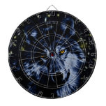 Wolf and stars dartboards