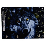 Wolf and stars dry erase board