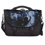 Wolf and stars laptop commuter bag