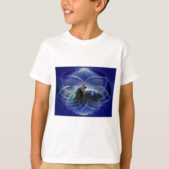 Wolf and the dreamcatcher T-Shirt