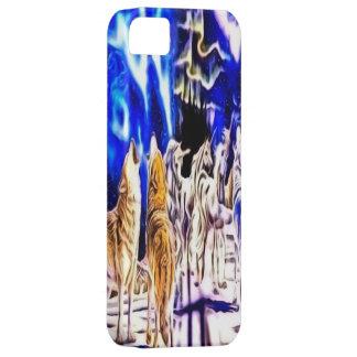 Wolf and Unicorn iPhone 5 Case
