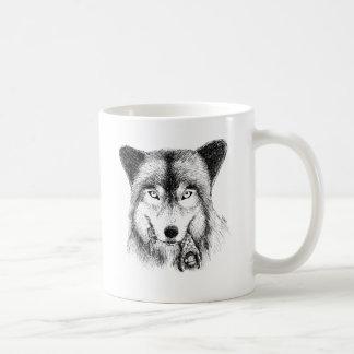 Wolf and Unlucky Little Guy Coffee Mug