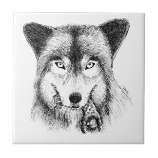 Wolf and Unlucky Little Guy Tiles