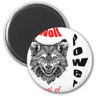 wolf-animal of to power magnet