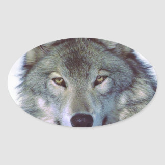 Wolf animal totem sticker