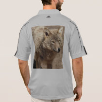 Wolf Animals Peace Love Nature Park Wolves Destiny Polo Shirt