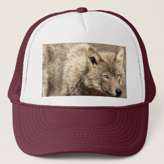 Wolf Animals Peace Love Nature Park Wolves Destiny Trucker Hat