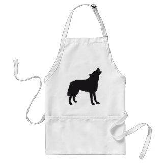 wolf apron