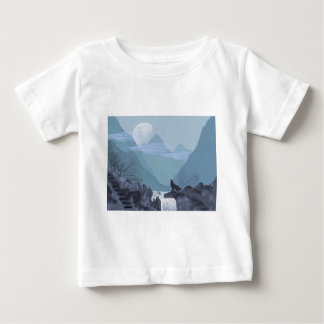 Wolf Art Baby T-Shirt