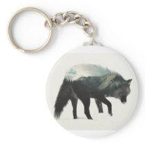 Wolf art. keychain