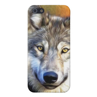 Wolf Art Painting iPhone 5 Case