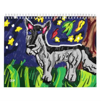 wolf arts calendar