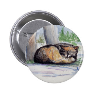 Wolf At Rest Button