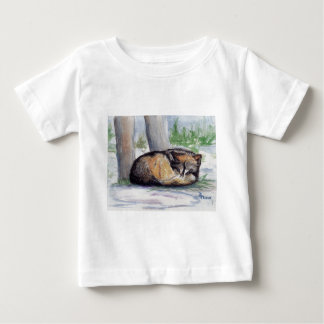 Wolf At Rest Infant T-shirt