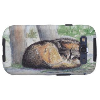 Wolf At Rest Samsung Galaxy Case Samsung Galaxy S3 Case