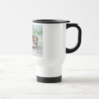 Wolf At Rest Travel Mug