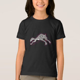 Wolf Attacking Girls T-Shirt