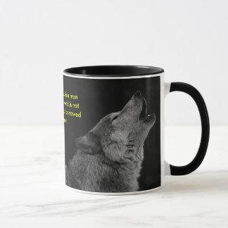 Wolf-Audobon Quote Mug