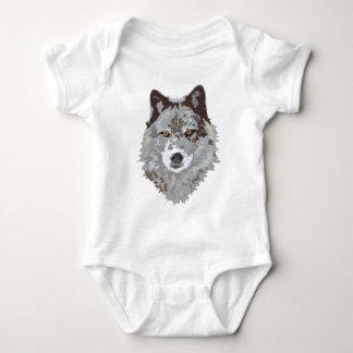 wolf baby bodysuit