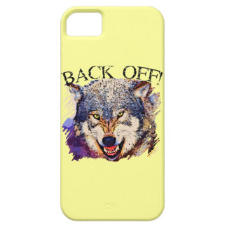 WOLF ... BACK OFF! iPhone 5 Case-Mate Case iPhone 5 Cover