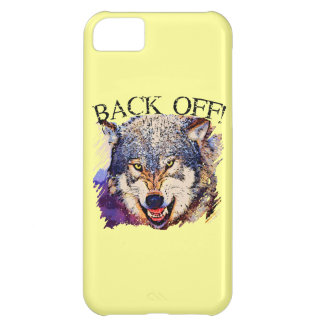 WOLF ... BACK OFF! iPhone 5 Case-Mate Case iPhone 5C Cover