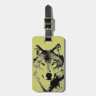 Wolf Bag Tag