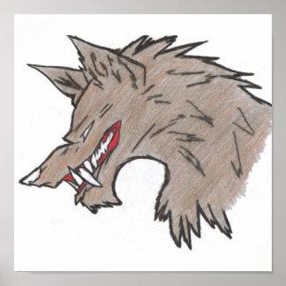 wolf bait poster