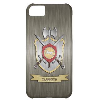 Wolf Battle Crest Sigil Armor Case For iPhone 5C