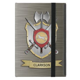 Wolf Battle Crest Sigil Armor iPad Mini Cases