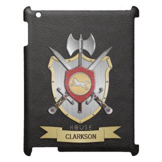 Wolf Battle Crest Sigil Black iPad Mini Case