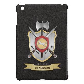 Wolf Battle Crest Sigil Black iPad Mini Covers