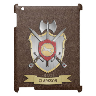 Wolf Battle Crest Sigil Brown Cover For The iPad Mini