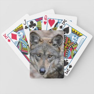 Wolf Bicycle Playing Cards