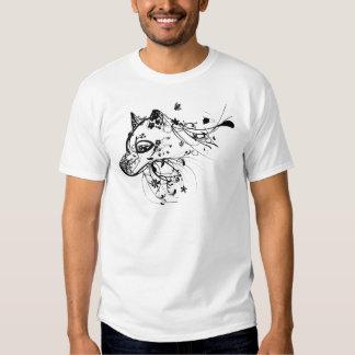 Wolf Black Tee Shirt