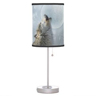 Wolf Blue Moon Desk Lamp