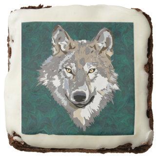 wolf brownie