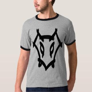 Wolf Brush Strokes Tee Shirt
