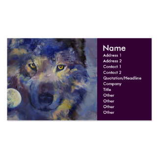 Wolf Business Card
