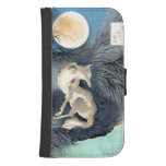 Wolf by Moonlight Phone Wallet Case