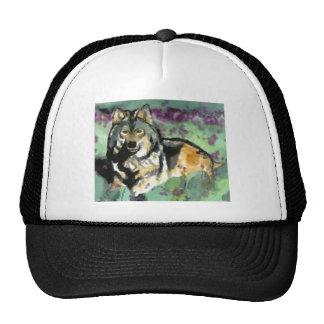 Wolf by Paula Atwell Trucker Hat