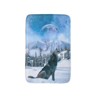 Wolf Call Bath Mat
