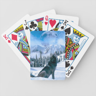 Wolf Call Bicycle Playing Cards