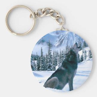 Wolf Call Keychain