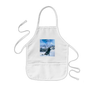 Wolf Call Kids' Apron