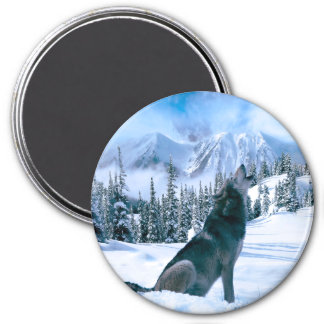 Wolf Call Magnet