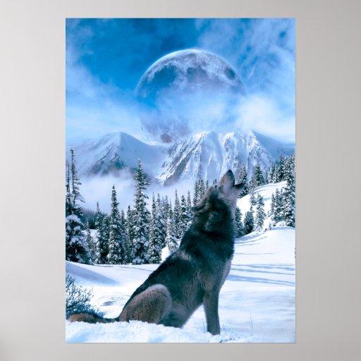 Wolf Call Print