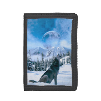 Wolf Call Trifold Wallets
