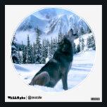 "Wolf Call Wall Sticker<br><div class=""desc"">Made in Photoshop cs5</div>"