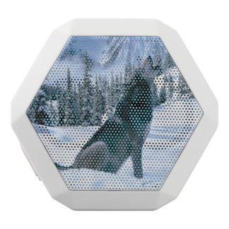 Wolf Call White Bluetooth Speaker